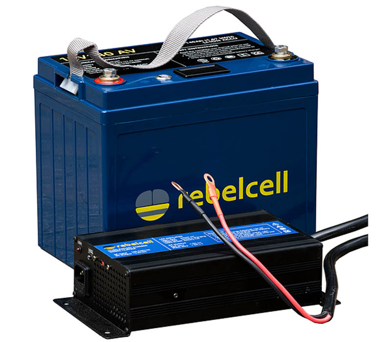 rebelcell 12volt 140amp Li-ion with Charger