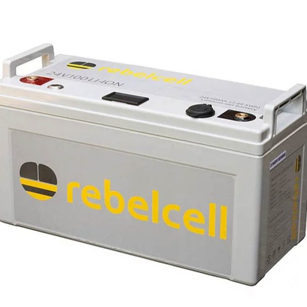 rebelcell 24volt 100amp Li-ion with Charger